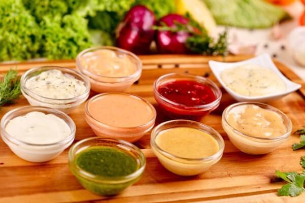 origen de las salsas