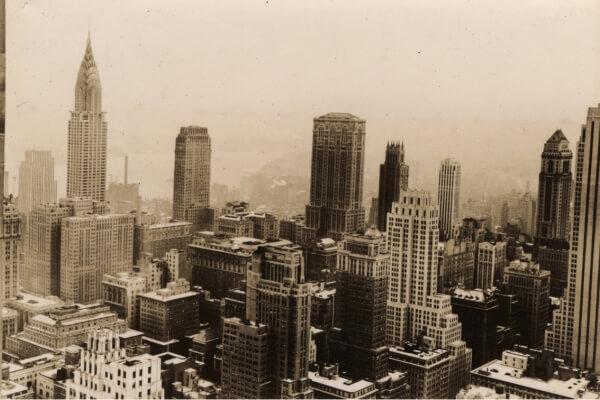 Historia contemporánea de Nueva York