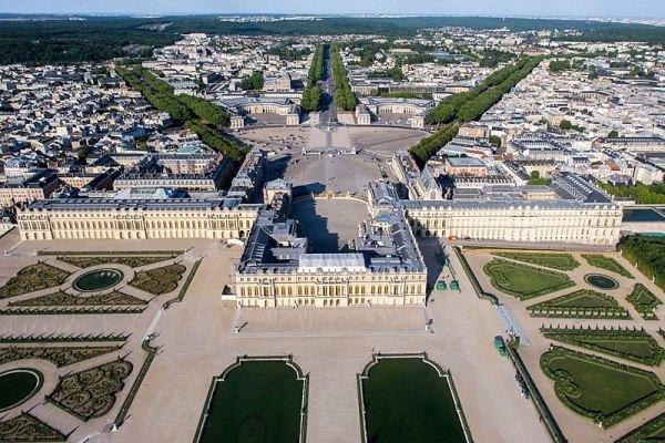 origen e historia del Palacio de Versalles