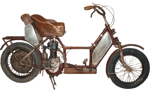 Historia del scooter