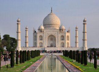 origen e historia del Taj Mahal