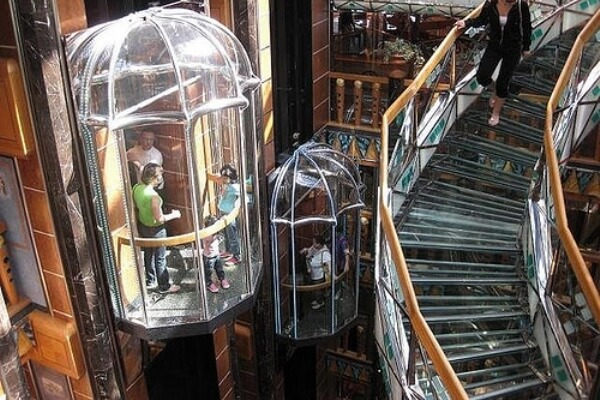 origen e Historia del ascensor