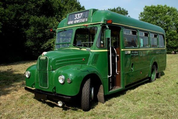 Origen del autobús