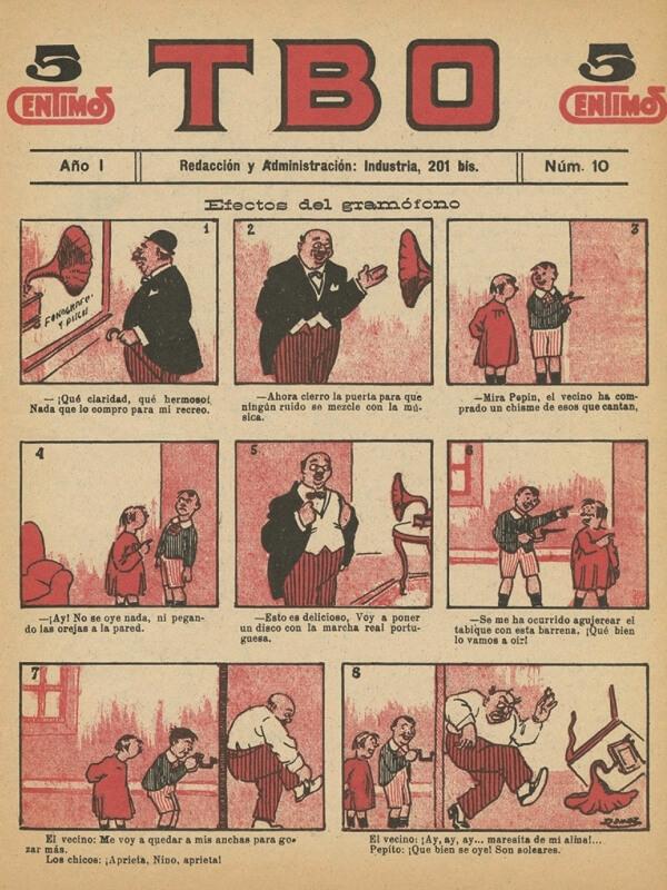 Historia del tebeo España