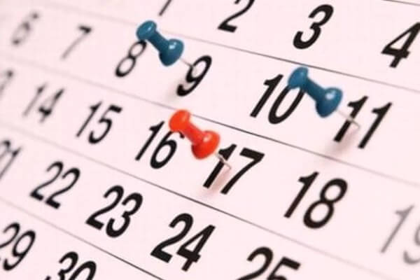 historia del calendario o almanaque