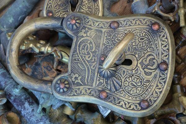 origen e Historia del candado