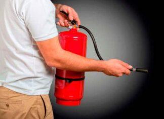 origen e historia del extintor