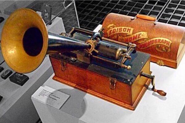origen e historia del fonógrafo