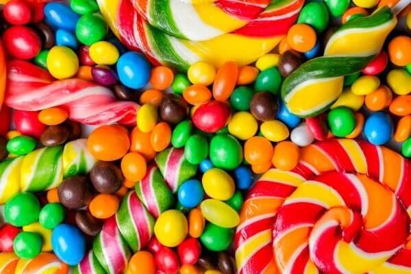 Origen de los caramelos