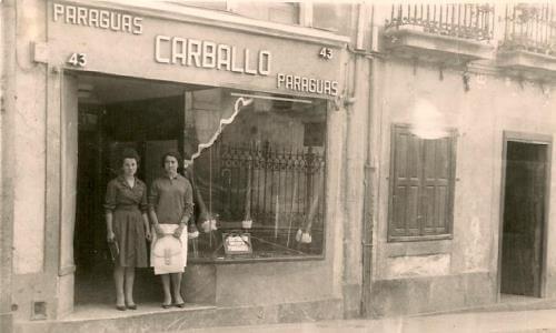 cuándo llegó el paraguas a España