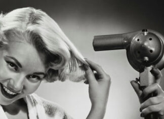 origen e historia del secador de pelo