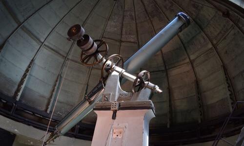 Cual es la historia del telescopio