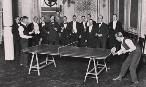 historia del tenis de mesa
