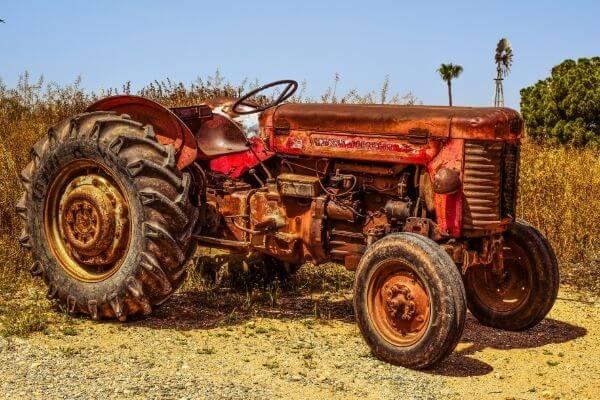 Origen del tractor