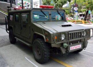Origen del vehículo blindado