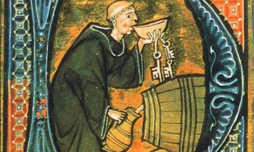 historia del vino en la edad media