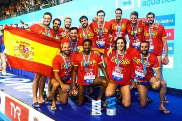 primer partido de waterpolo en España