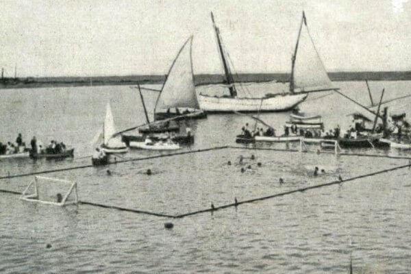 el origen y la historia del waterpolo