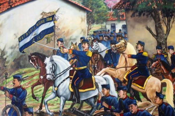 historia de la guerra independencia El Salvador