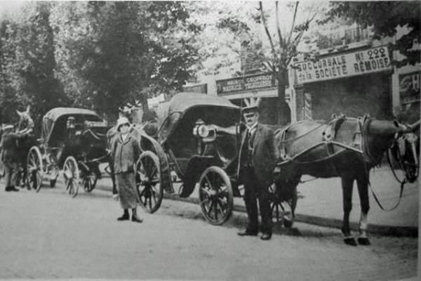 taxi coche de caballos