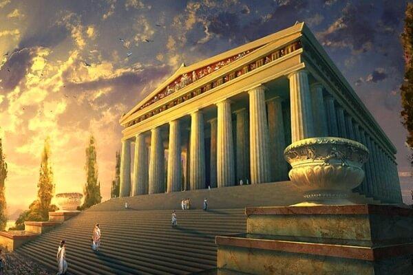 origen del templo de Artemisa