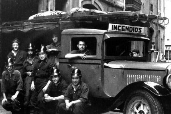 Historia de los bomberos en España