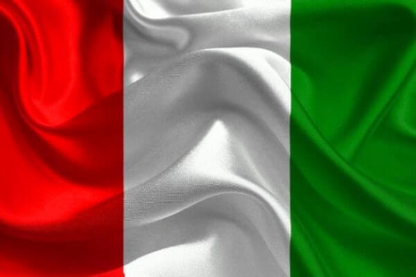 origen de la bandera de Italia