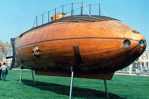primer submarino español