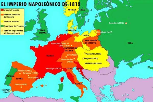 Historia impero francés