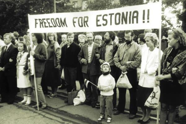 historia contemporánea Estonia