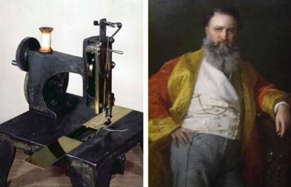 ¿Cuál fue la primera máquina de coser?