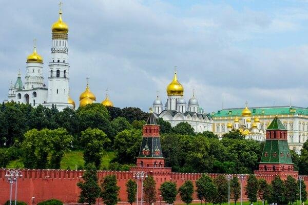cuándo se construyó el Kremlin de Moscú