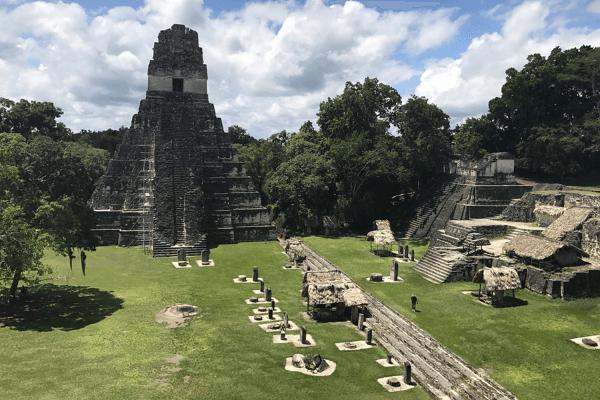 origen de la ciudad maya bajo tierra de Guatemala