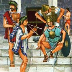 historia y origen de la música en Esparta