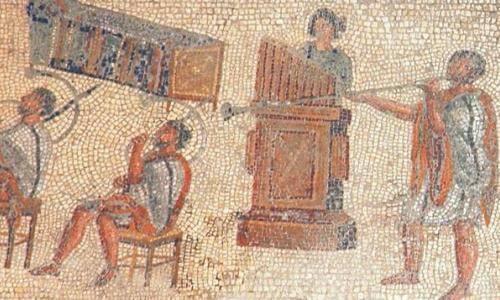 Historia de la música en el imperio romano