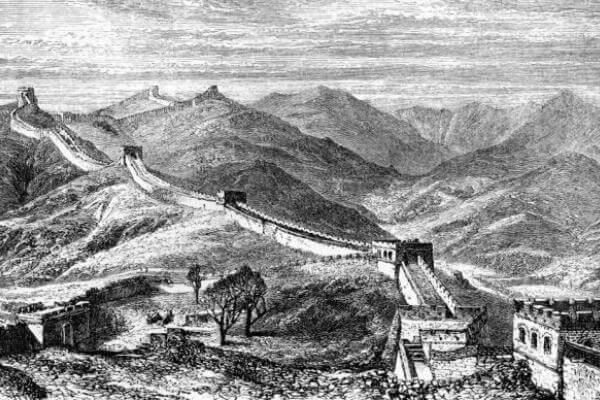 gran muralla china para niños
