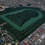 origen e historia de la tumba de Nintoku Kofun