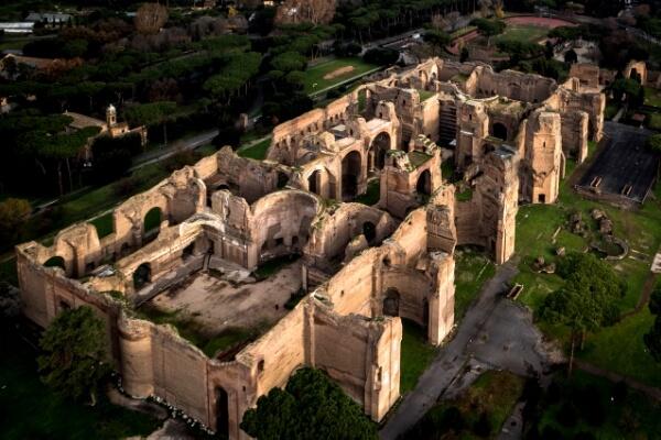 Termas de Caracalla reseña histórica