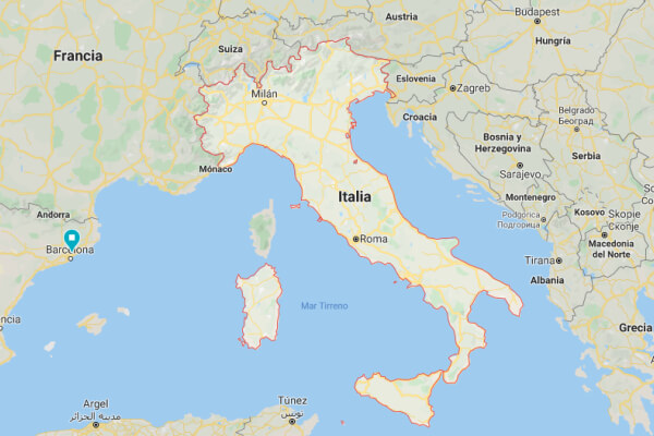 Origen de Italia