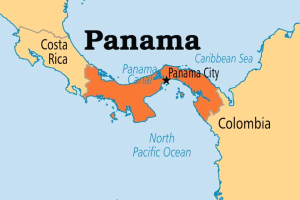 dónde está Panamá