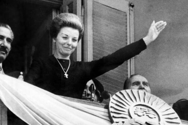 historia mujer de Perón