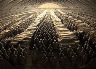 origen e historia Mausoleo de Qin Shi Huang historia