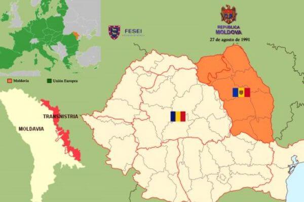 adhesión de Moldavia a Rumana