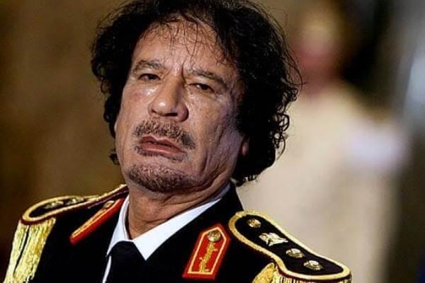 historia dictadura Libia
