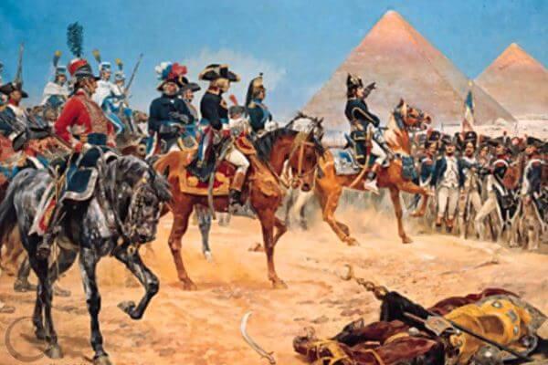 ocupación franceses de Egipto
