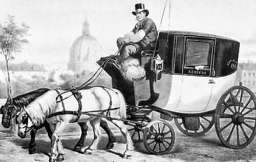quién inventó el taxi