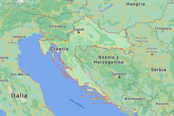 cuál es el origen de Croacia