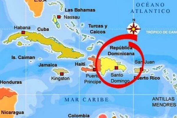 situacón geográfica república dominicana