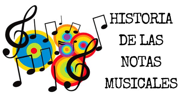 cuál es el origen de las notas musicales