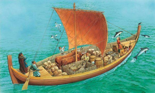 cuál es el origen del barco